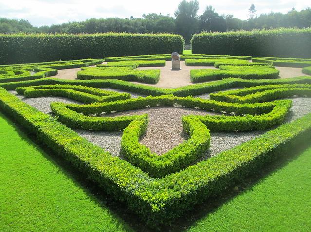 Pitmedden Garden, knot garden, Aberdeenshire
