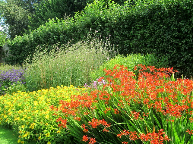 mixed border, Pitmedden Garden, Aberdeenshire