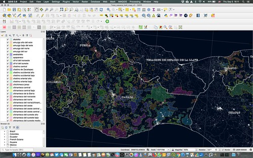 Southern Mexico Ethnolinguistic Mapping