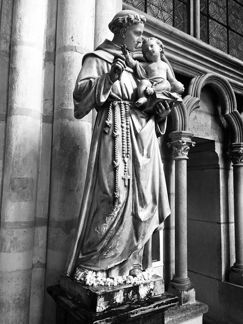Basilica of Saint Denis in Paris, France.