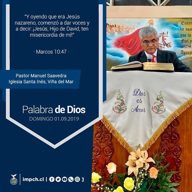 Palabra de Dios | Domingo 01 de Septiembre 2019
