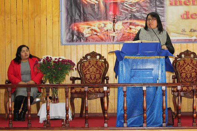 """La fe como fruto abundante en mi"" Dorcas IMPCH Lenga."