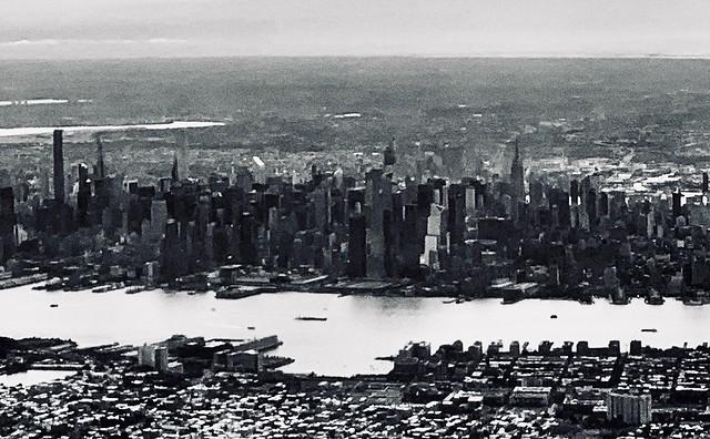 Midtown Manhattan during Take-off