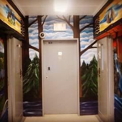 Cellblock mural Center