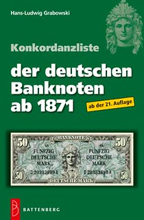 German banknotes from 1871 book cover