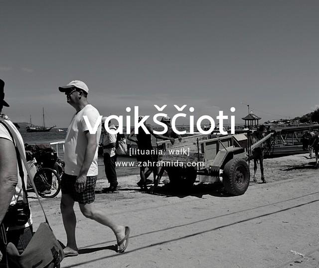 Dermaga Pulau Gili Air Lombok