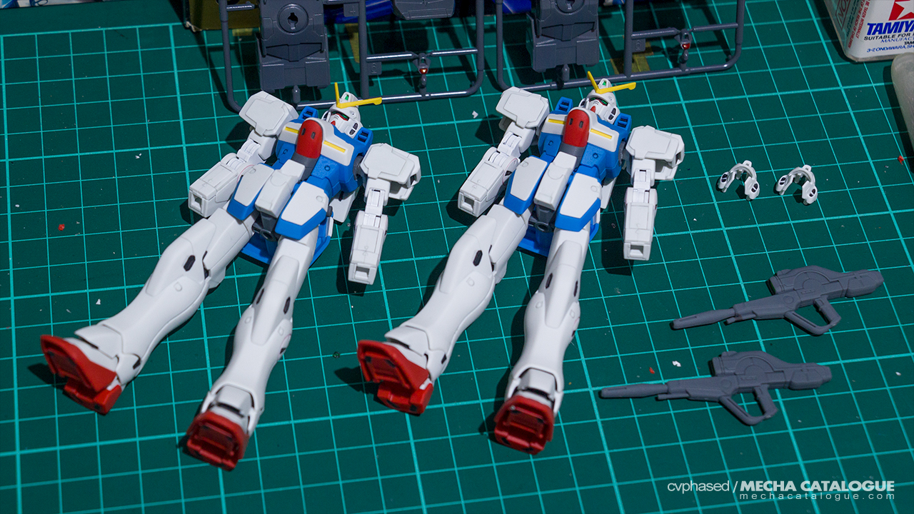Work-in-Progress #3: HGUC Victory Gundam/Hexa