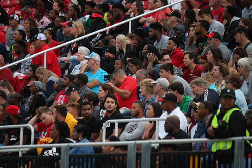 Packed stands for Frostburg State's Football Season Opener