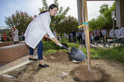 Class of 2022 Tree Blessing Ceremony