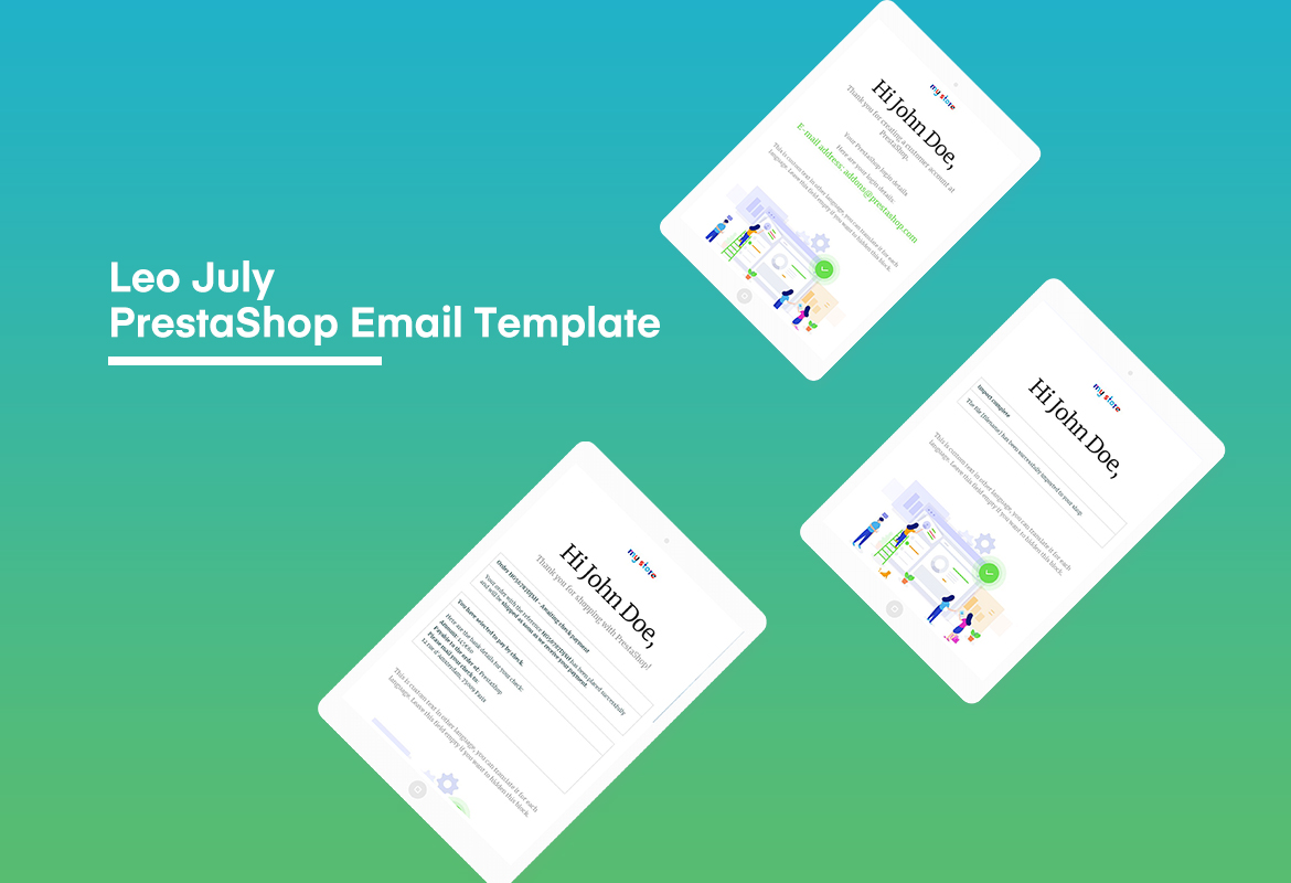 Leo July - Amazing PrestaShop Email Template