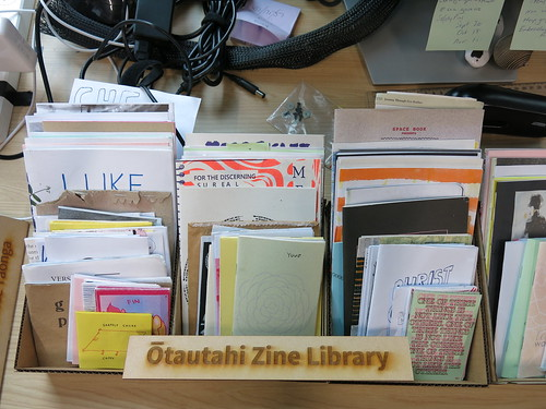 Ōtautahi Zine Library at Tūranga