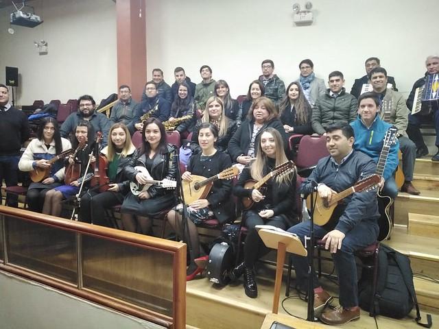 Ensayo de plantilla Coro UNIPECH Concepción