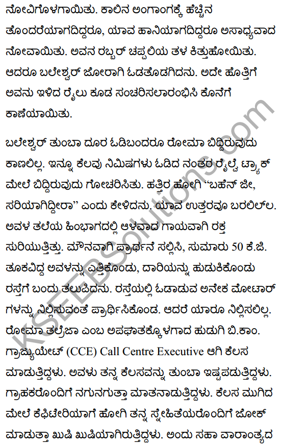 There's a Girl by the Tracks! Summary in Kannada 3