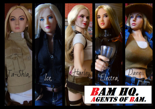 Agents Of BAM (001) | by Blondeactionman