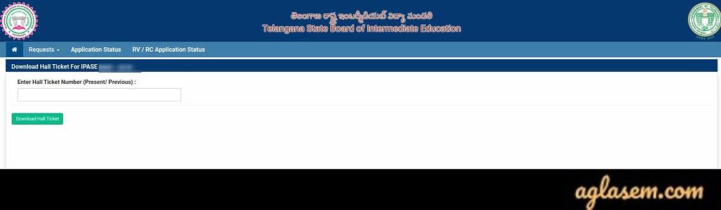 Telangana Hall Ticket 2020