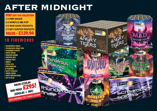 NEW FOR 2019 - After Midnight DIY Fireworks Kit