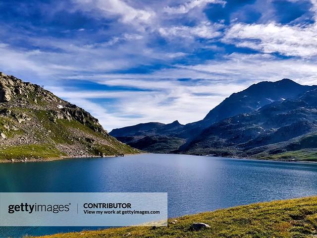 Lac de Sagne, Isère,