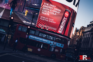 Piccadilly Circus, London.