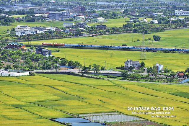 20190826-DAO_0026 宜蘭縣蘭陽平原鄉村和高速公路景色