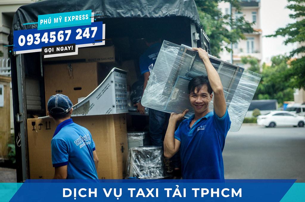 Dịch vụ Taxi tải quận Tân Phú nhiều tiện ích thiết thực