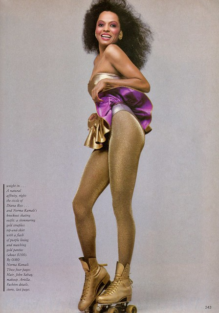 Diana Ross shot by Richard Avedon for Vogue 1981
