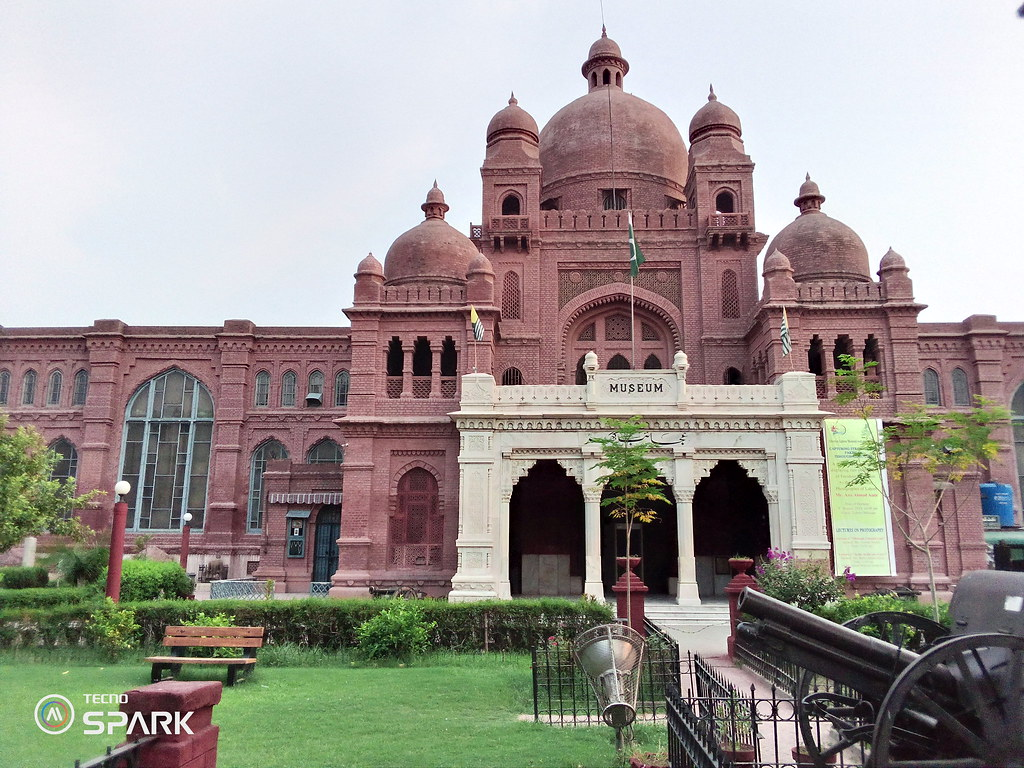 Lahore Museum Picture with HDR mode on tecno spark Go