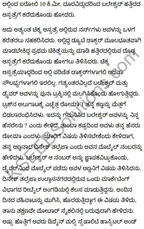 There's a Girl by the Tracks! Summary in Kannada 5
