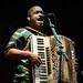Corey Ledet at the 37th annual Original Southwest Louisiana Zydeco Music Festival, Opelousas, Aug. 31, 2019