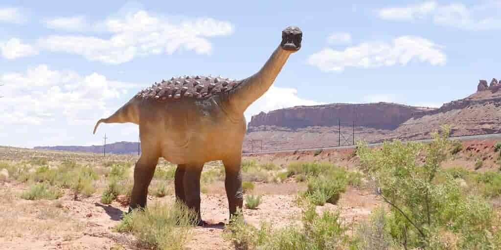 un-dinosaure-a-écransé-une-tortue-géante-du-jurassique