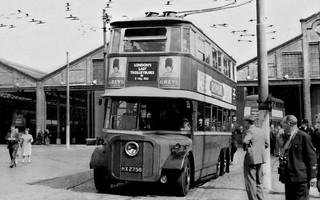 London Transport HX2756 May 1962
