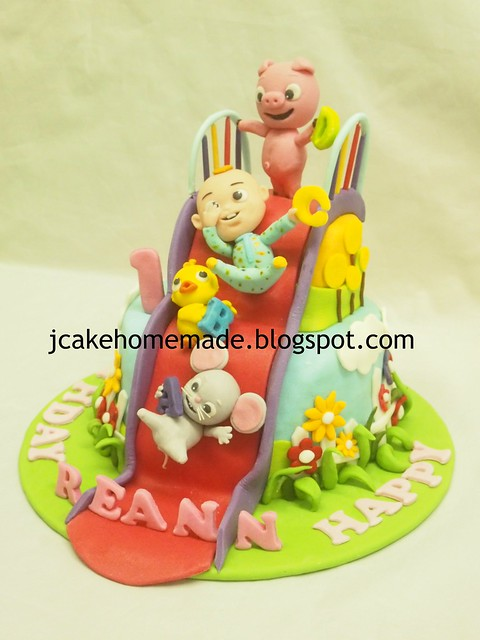 ABC kid TV birthday cake