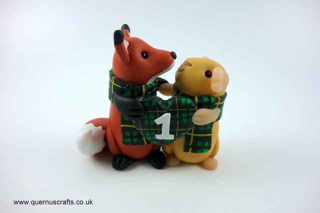 1st Anniversary Fox & Guinea Pig
