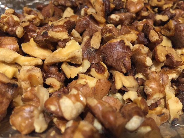Toasted walnuts