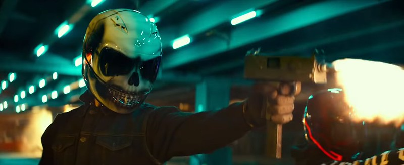 生活中的壞男孩 - 頭骨頭盔