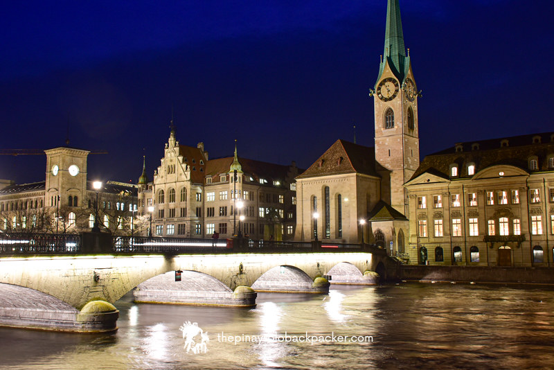 PLACES TO VISIT IN ZURICH - FRAUMUNSTER CHURCH