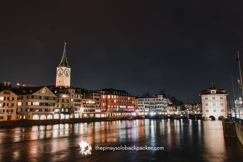ZURICH ITINERARY: WALK AROUND THE ZURICH OLD TOWN