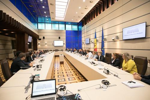 06.09.2019 Întrevederea deputaților din Fracțiunile PAS și DA ale Blocului ACUM, cu Joseph Daul, președintele Partidului Popular European