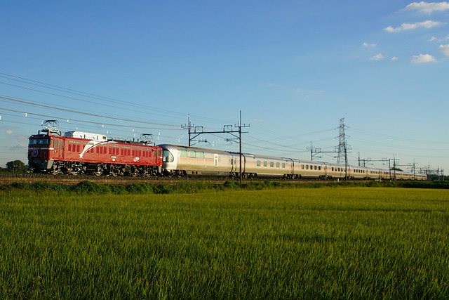 EF81-133牽引カシオペア紀行@ワシクリ