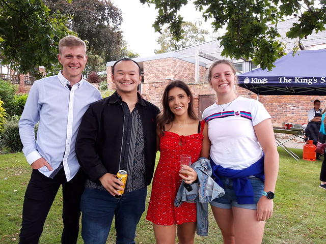 Recent Leavers' BBQ 2019