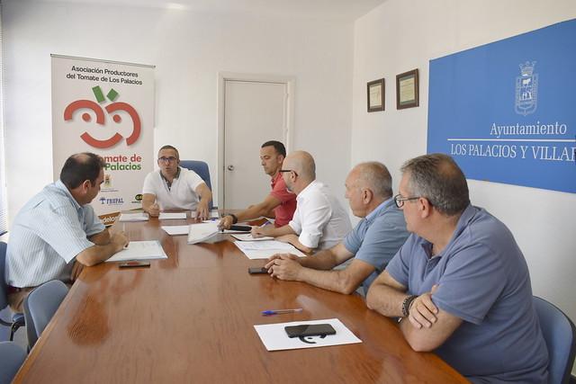 Reunión Asoc Produc del Tomate de Los Palacios