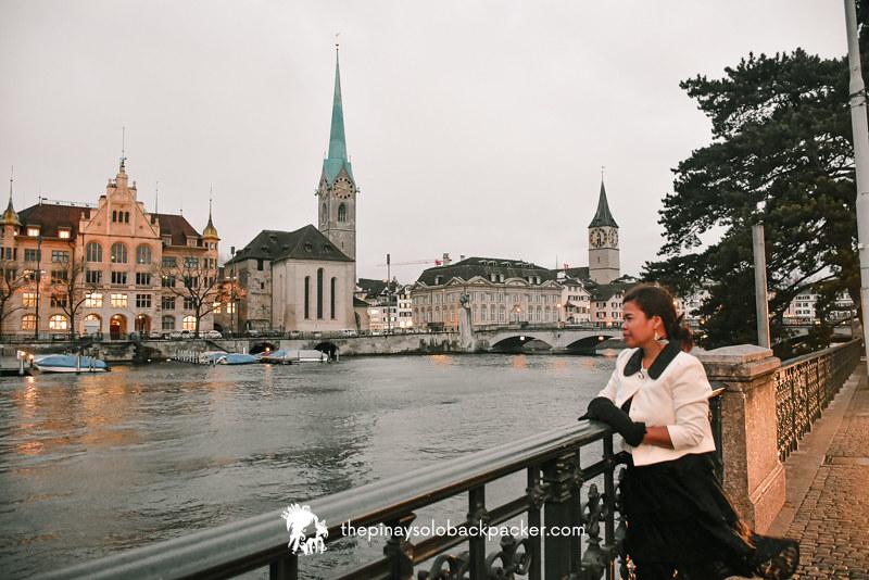 ZURICH TOURIST SPOT - LIMMAT RIVER