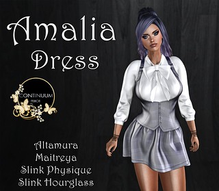 Continuum Amalia Dress TELEPORTHUB EXCLUSIVE GIFT