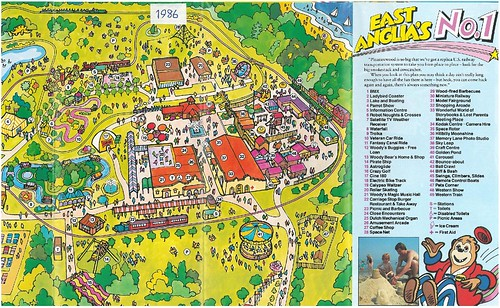 1986 Park Map | by www.pleasurewoodplace.com