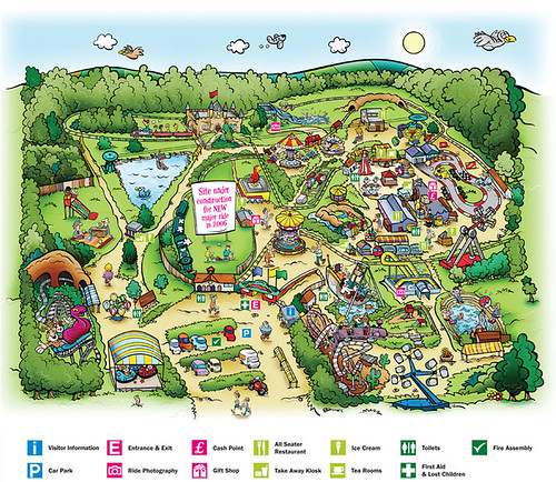 2006 Park Map | by www.pleasurewoodplace.com
