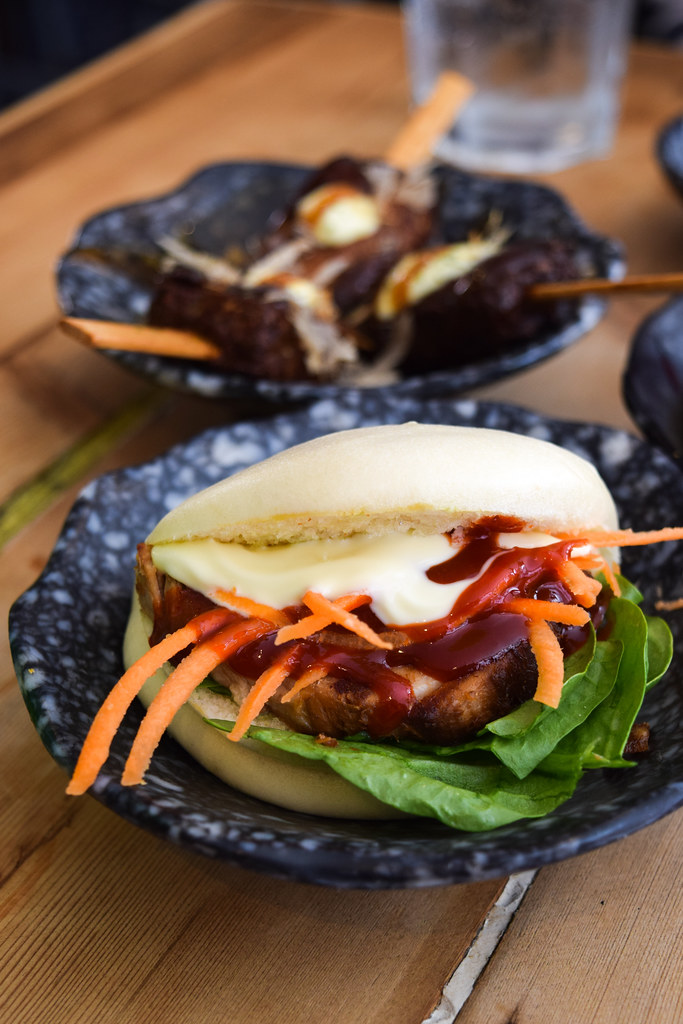 Pork Bao Bun at Happy Samurai, Canterbury