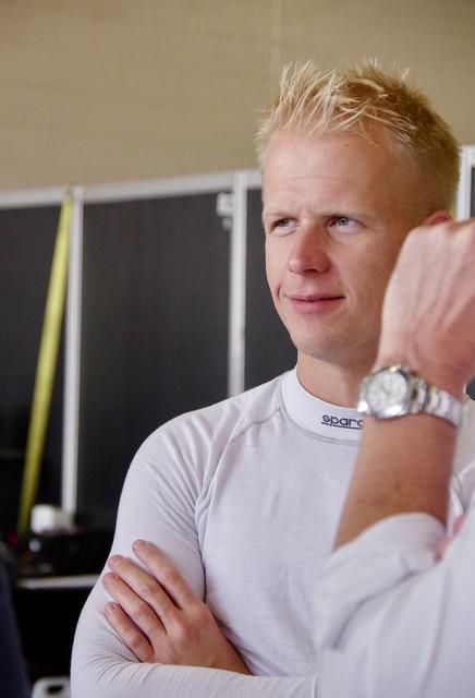 Michael Simpson Driver of Team LNT's Ginetta G60 LT-P1