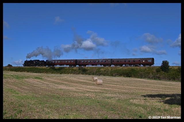 No 76084 1st Sept  2019 North Norfolk Railway Steam Gala