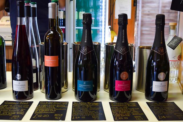 Wine Tasting at Biddenden Vineyard