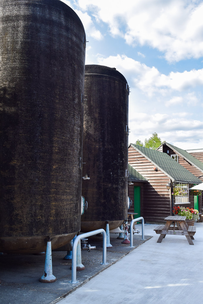 Wine Tanks at Biddenden Vineyard