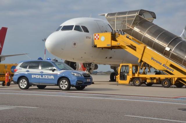 arresto aeroporto